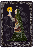 Transyre - Tarot - The Hermit by Leprapotilas