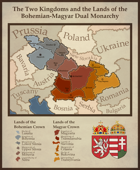 Lands of the Holy Crown of St. Stephen by CoralArts