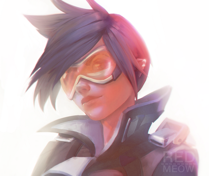 Best Tracer in the WORLD!! by red-meow