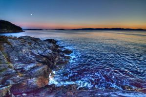Sea by night by PhotoForever88
