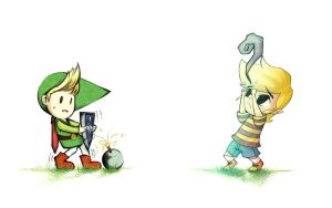 Lucas and Toon Link? - SSBB by RomAttack