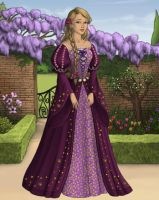 Rapunzel - Disney Fairytale Doll Collection by zozelini
