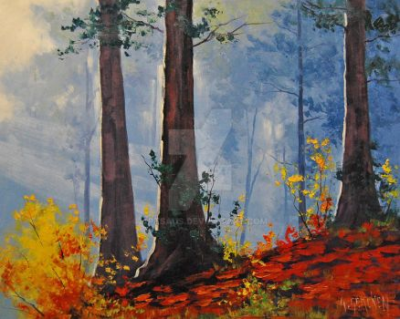 Forest Fall By Artsaus-d5dj56g by artsaus