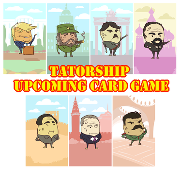 [COMMISSION] Tatorship Upcoming Card Game by Zummeng