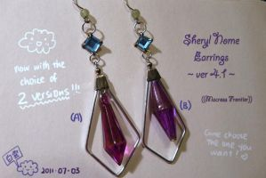 Sheryl Nome's earrings ver4.1 by hakukumo