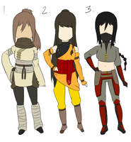 LoK Adoptables 4 ::CLOSED:: by FudgeNugget
