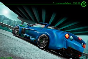Chevrolet Corvette Z09 by LazziTuning