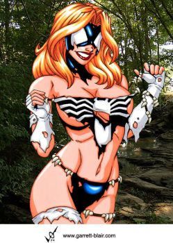 Savage Land Spiderwoman II by Mythical-Mommy