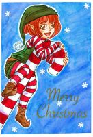 Christmas Elf by Piura