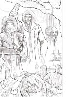 Legacy issue #1 cover pencils by cloverat71