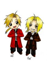 Fullmetal Brothers by Chibi-Fin-chan