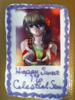 Sweet 16 Cake by ChibiStarChan