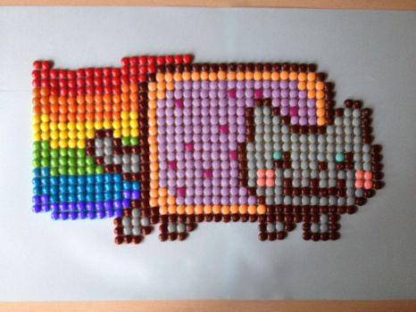Mnm Nyan Cat by Polynesiangirl
