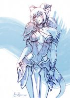 WoW: Spearfrost sketch by ryumo