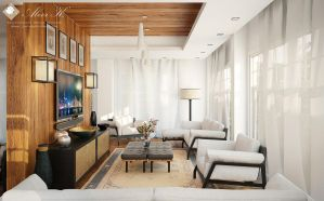 D villa ground floor living - third draft by kasrawy