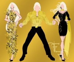 Stingers Award Show Fashions by Furyian