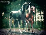 Loki and Gaia by EquusInspiration