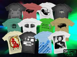 Shirts: Batch 3 by GAME-OVER-CUSTOM