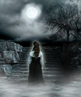 Moonlight Ghost, Betrayed Lady by Tincho555
