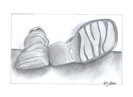 Shoes- Black and White by Kouru17
