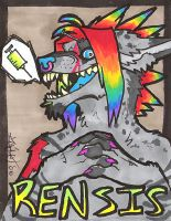 Rensis Badge by CorrosiveFool