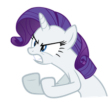 Rarity - I will rip you in pieces! by Gecko-7