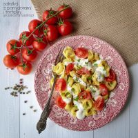 Tomato and tortellini salad by Pokakulka