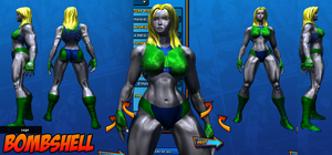 Bombshell Costume ref 01 by Agent-Foo