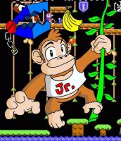 Donkey Kong Junior by raymondthefrog