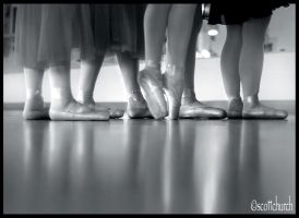 dancers shoes by scottchurch