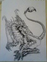 Dragon, DnD by TheUglyBlowfly
