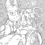 .:Newly Weds:. by SuckerForDragons