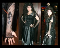 Bellatrix Lestrange Costume by KMCgeijyutsuka