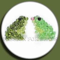 Princess and the frog Swarovski crystal figurines by PassionForBeads