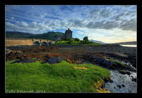 Evening at Eilean Donan by Pistolpete2007