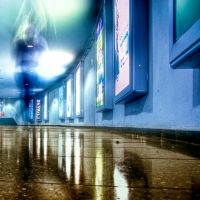 take a walk with a ghost by Ditze