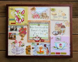Tea Time Collage by KatarniaHolbart