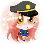 Cute Halloween Cop. (Contest Entry) by DesuFrickingSama