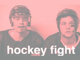 Hockey Fight by monikin