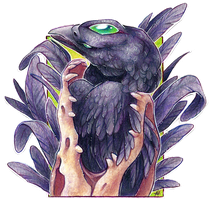 ACEO Raven by soulwithin465