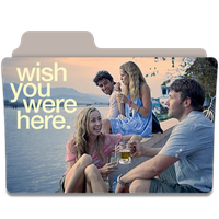 Wish You Were Here Folder Icon by efest