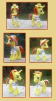 My Little Pony Flim and Flam custom by kaizerin