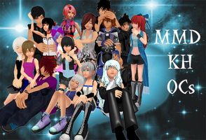 MMD KH OC (cover contest) by sophloulou