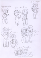 -chibi requests- -sketched- by Sixala