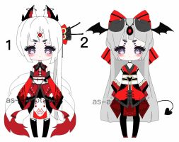 kimono kemonomimi adoptable batch CLOSED by AS-Adoptables