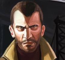 NIKO BELLIC GTA IV by Arsenalfan747