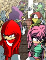 The Chaotix by DKLreviews