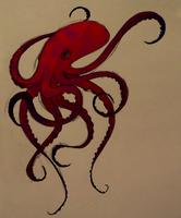 octopus by rachaelwrites