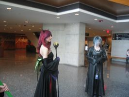 maleficent and zexion by HalloweenTownKairi