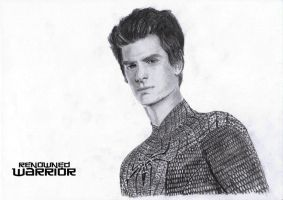 The Amazing Spiderman -Andrew Garfield B and W by renownedwarrior